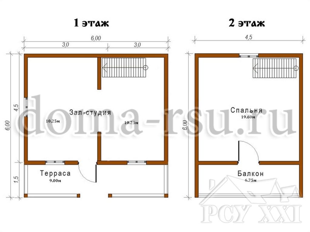 Индивидуальный проект дома ИП001