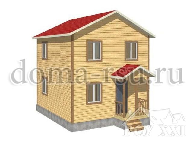 Проект каркасного дома КД006