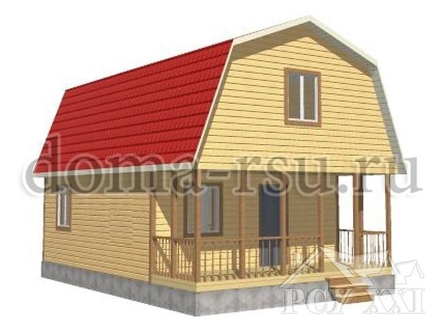 Проект каркасного дома КД099